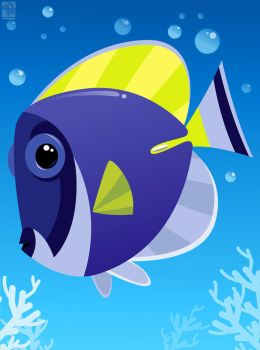 Tropical Fish 03 by placitte2012