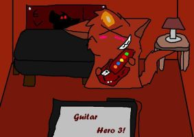 Guitar hero 3 by gdwDOG-wolf99