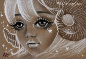 Aries - ACEO by Katerina-Art