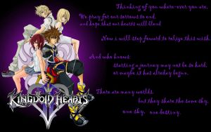 Kingdom Hearts II Wallpaper by blckxwngxdragon