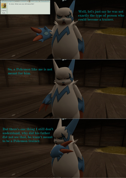 Ask Shiny and the Pokemon gang #9 by Firehunter397