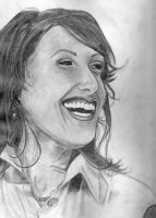 Lisa Edelstein well kinda by StandsWithAPencil