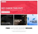Awesome Banner Design Kit (Freebie) by UJz