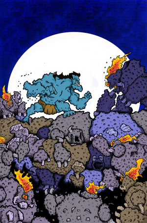Hercules vs The Moon Men