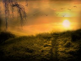 Premade Background- ''across The New Divide'' by L-A-Addams-Art