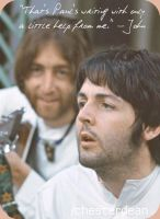 Lennon and McCartney by ChesterDEAN