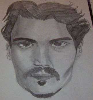 Johnny Depp by FloweringWolfsbane