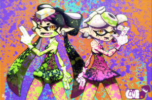 Squid Sisters by ZMAnonymous
