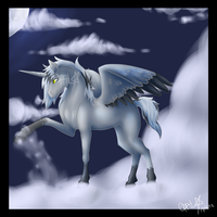 .:Cascade:. Up in the Clouds by ProtoSykeLegacy