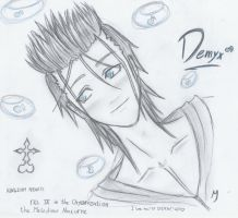 Demyx from Org. XIII by 0-Maxan-0