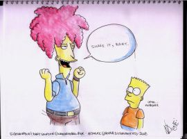 Work the Groin Bart by FatMenSweat