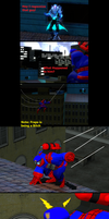 The amazing spiderman 2 Game Reanactment by wolfthepredator