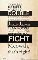TeamRocket Motto by DizzyMouse