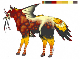 Asian Screw Adoptable -CLOSED by Flamelish