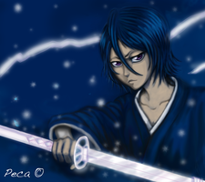 Rukia's Sode No Shirayuki by peca06