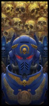 Primaris Space Marine by Theocrata