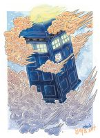 TARDIS-IS-IS by yfrontninja