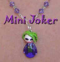 Mini Joker Necklace by Shielou