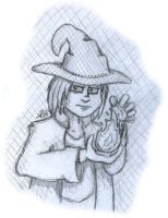 BlackMage-13 Sketch by AK-Is-Harmless