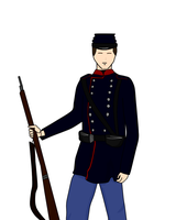 1864 Danish Uniform by Dearionart