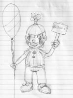 Balloon Boy Human by CrossoverGamer