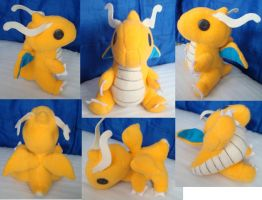 Dragonite Plush by jolteon0274
