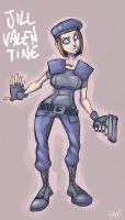 Jill Valentine by Sam-M