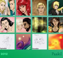 Year Review 2012 by Paakil