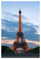 Eiffel Tower by SebastianKraus