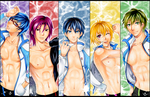 Free! Iwatobi Swim Club by MoonlightAlchemist