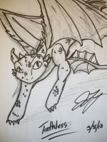 Toothless by TaintedTamer