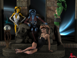 A Coven of Twi'leks by sylveryne