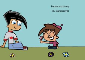 Danny fenton and Timmy turner by starbeauty91