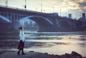 Warsaw Bridge by justina-m