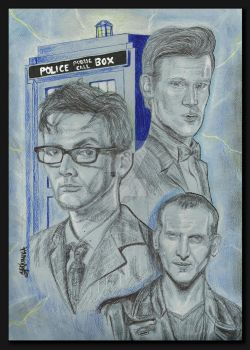 Doctor Who by yarianna