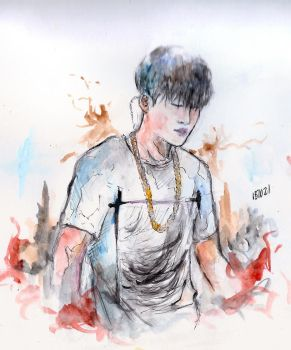 Jhope by zhaleys