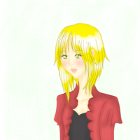 Flor with a red jacket by MCRmyEaterNida
