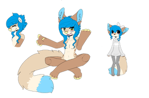 Supi ~ Anthro Reference Sheet by supichu