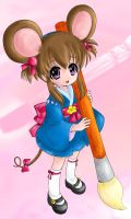 Mouse girl by Elyon87