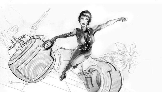 QUORRA OF TRON by GGIANO