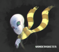 REQUEST|Wander!Gaster by Flotts