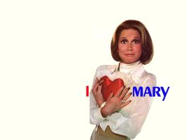 I heart Mary Wallpaper by Don-O