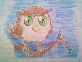 Chibi Owl by firagare