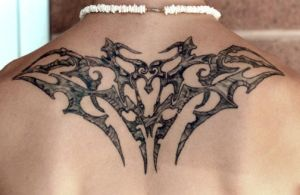stone tribal back by Deborah-Valentine