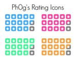Rating Icons by Ph0g