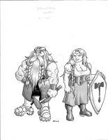 Hobb, Mountain Dwarf by lvl9Drow