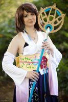 FFX: Summoner Yuna by e-l-y-n-n