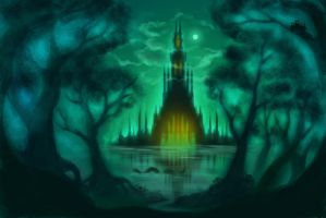 """""""terrifying tower"""" by malisaa"""