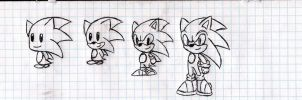 Chibies: Sonic by nothing111111