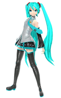 PDA Hatsune miku SEGA 3.0 by johnjan11